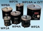 round dip coating pots
